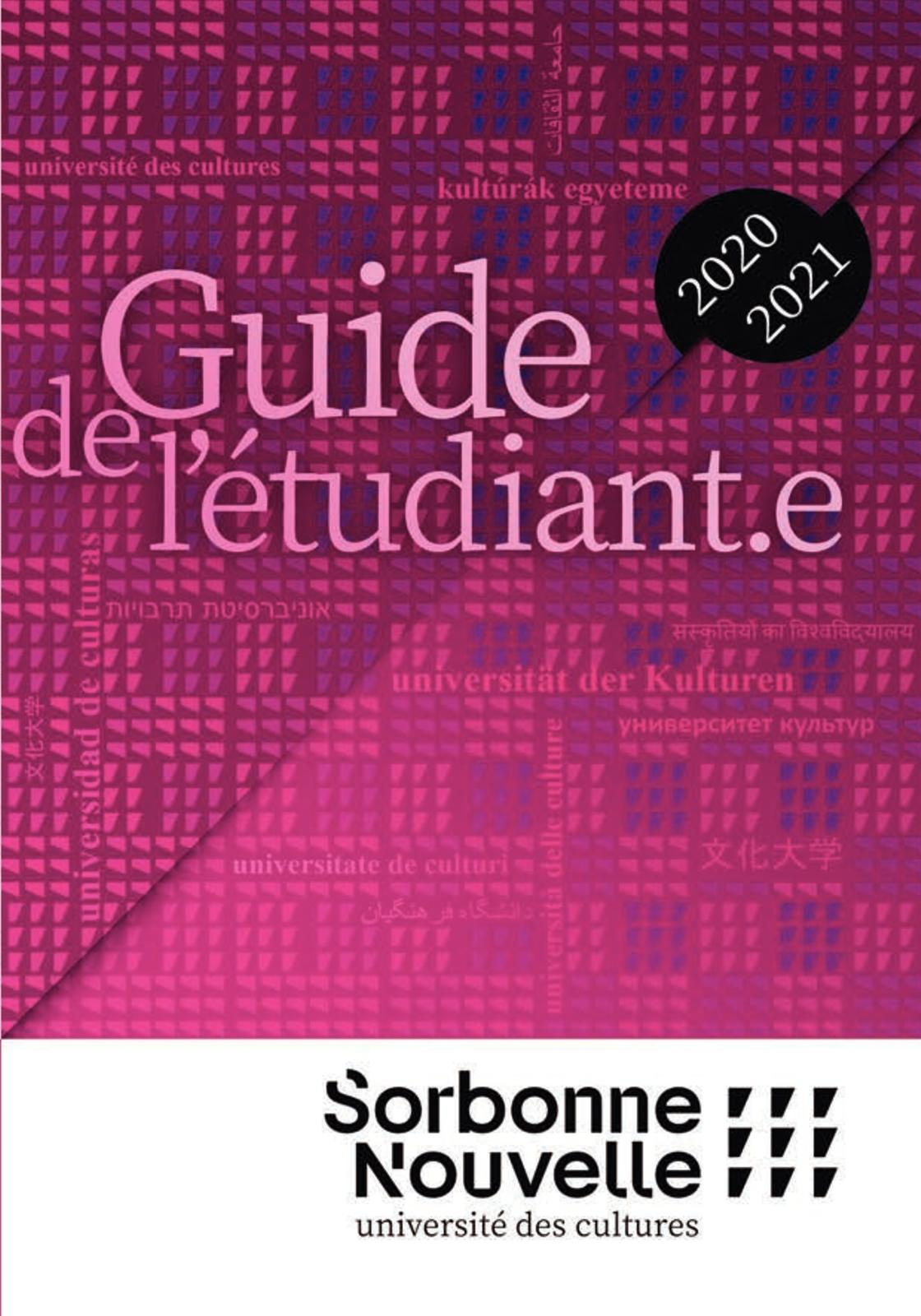 Calaméo   Guide Etudiant 2020 2021