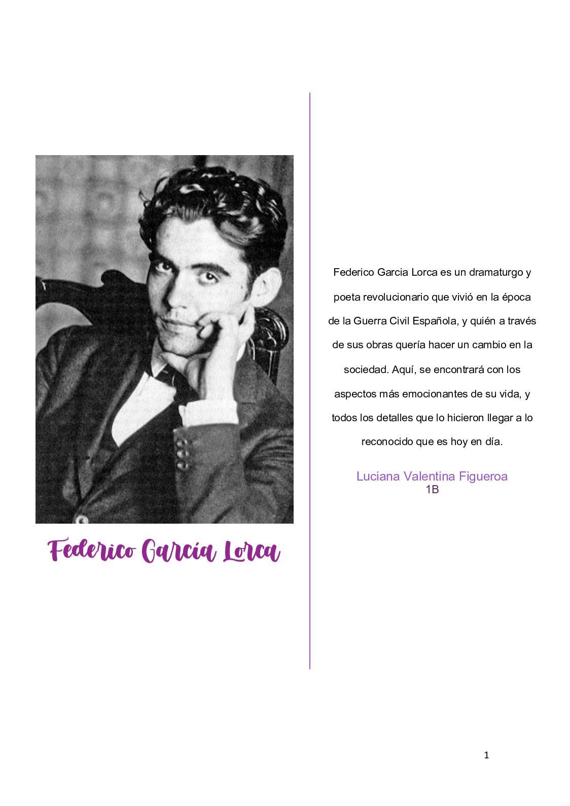 Calaméo Federico Garcia Lorca