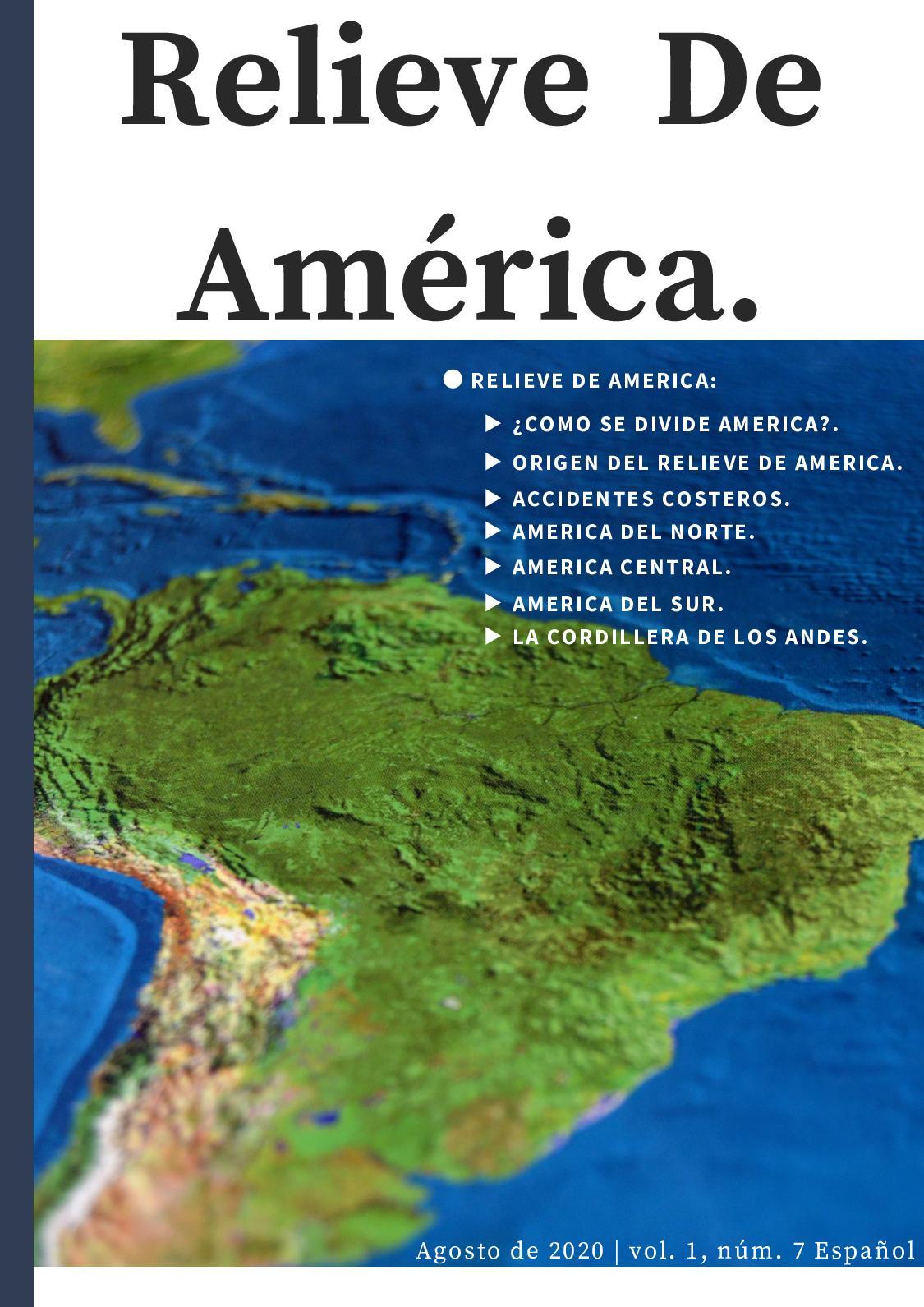 Calaméo Relieve De América