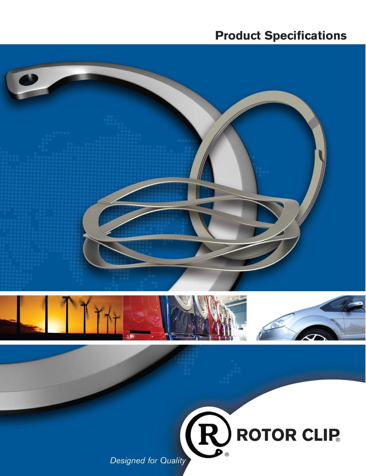 Pack of 15 Standard Lugs Carbon Steel Phosphate Coating Rotor Clip C-137 ST PA Retaining Ring External Radially Installed