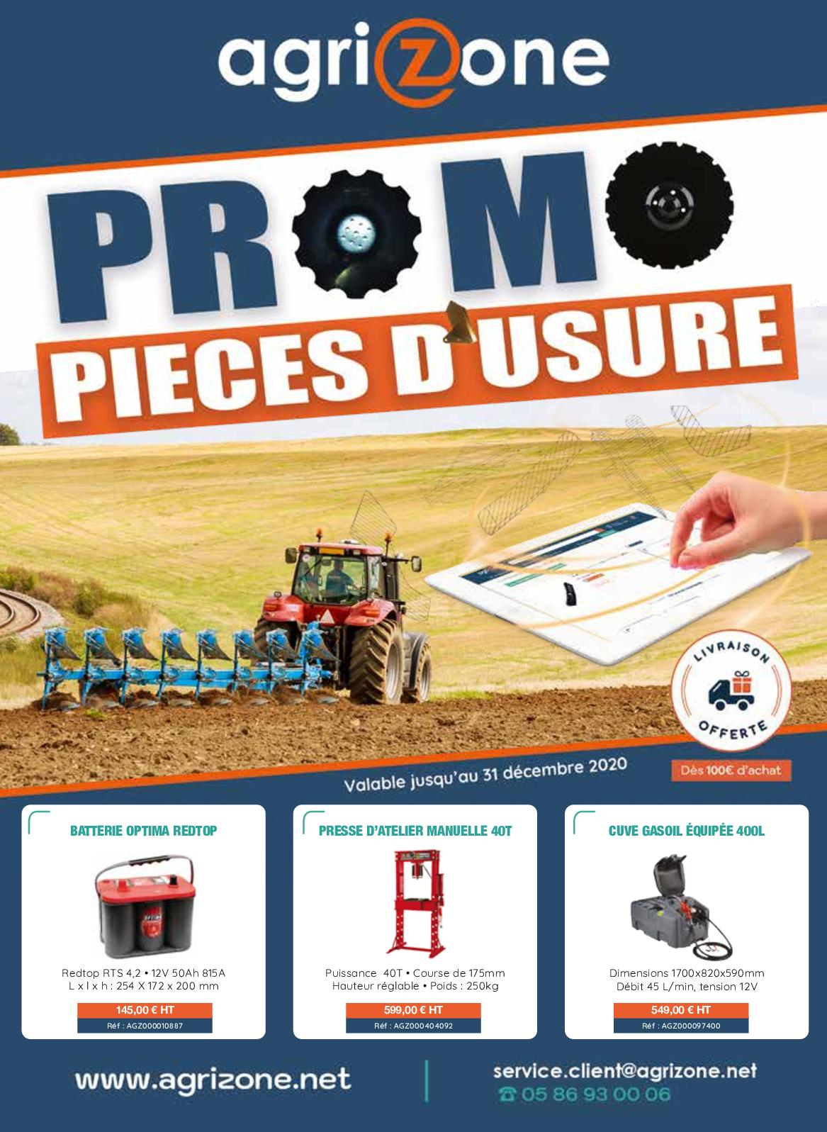 Calameo Mailing Piece D Usure Agrizone 2020