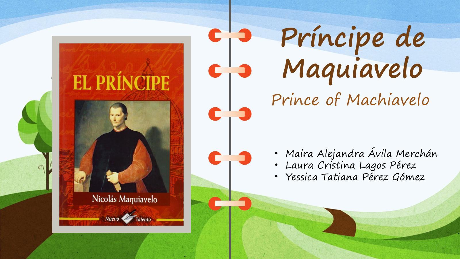Principe De Maquiavelo