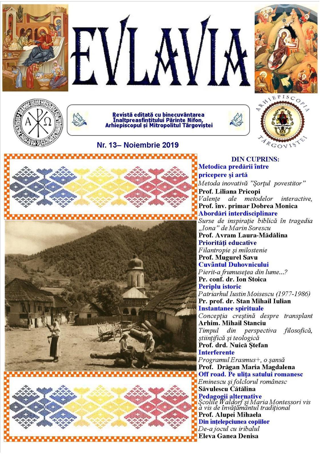 Revista Evlavia Nr 13