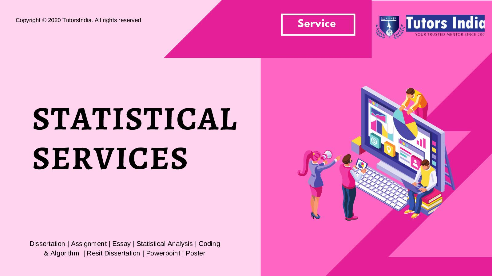 Dissertation Statistical Services In Uk