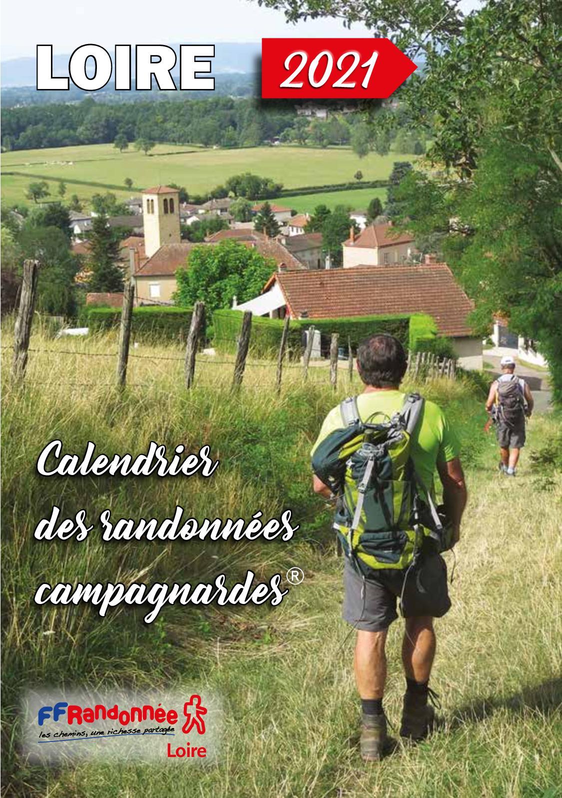Randonnée Pédestre Loire 42 Calendrier 2022 Calaméo   FFRandonnee Loire Calendrier 2021