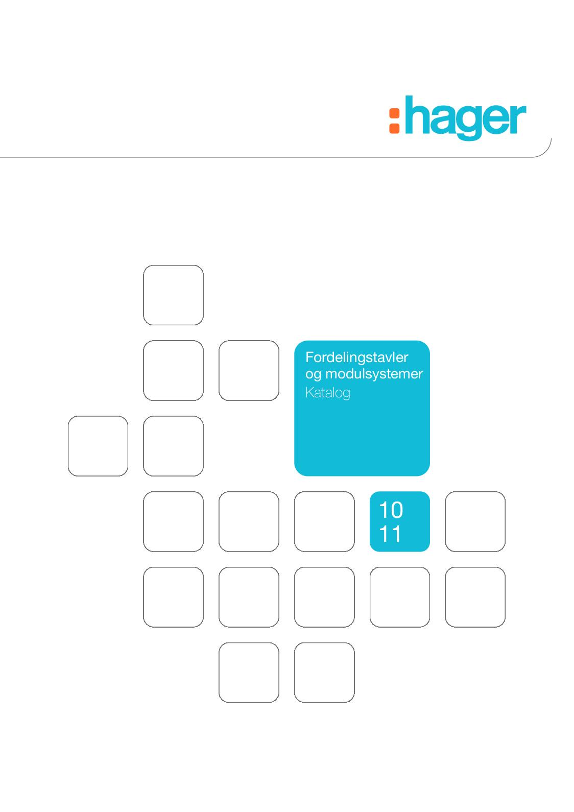 HAGER SM100 Amperemeter Analog Indirekte 0-100A 4M