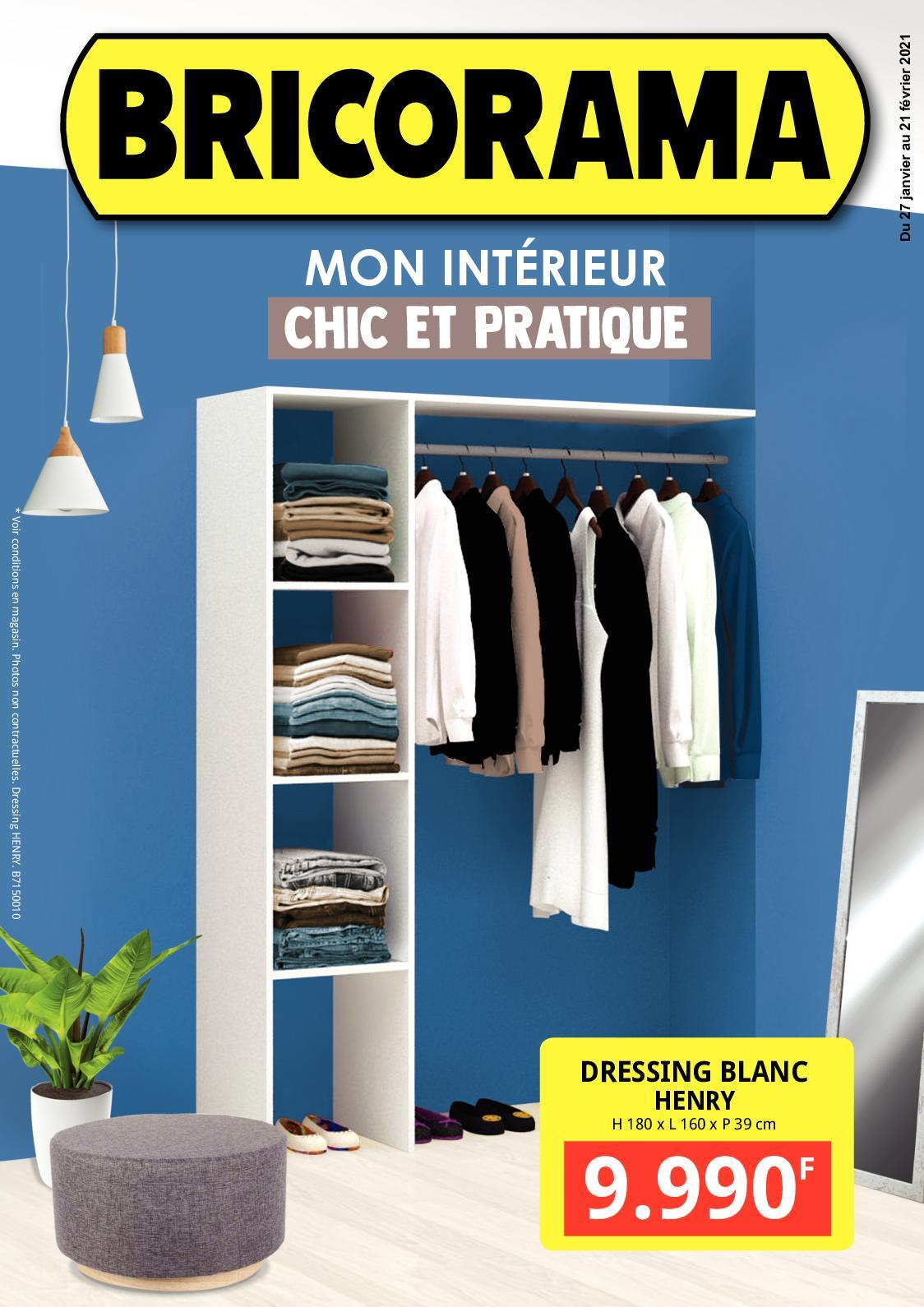 Calameo Mon Interieur Chic Et Pratique Catalogue Bricorama Du 27 Janvier Au 21 Fevrier