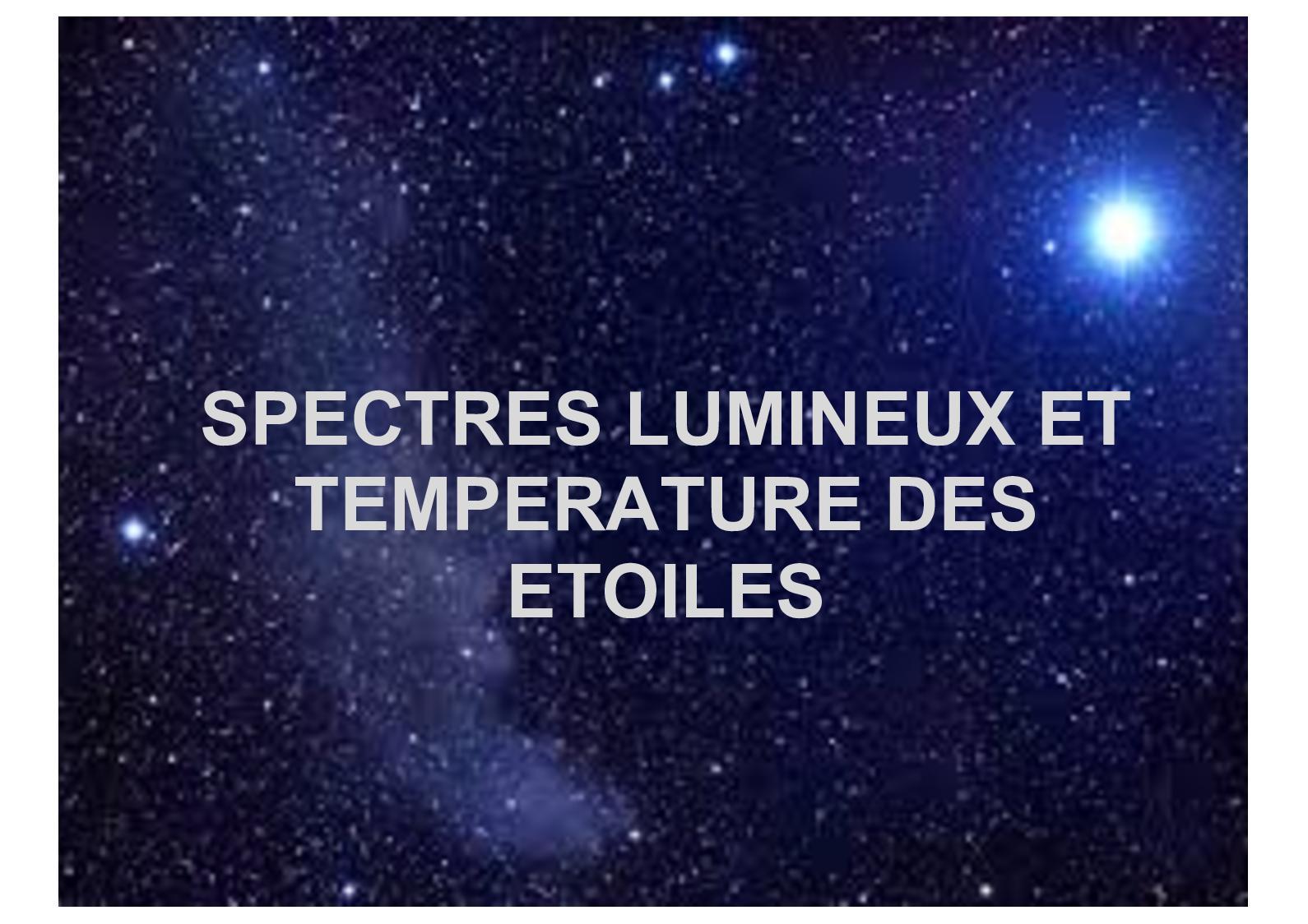 Diapo Spectres