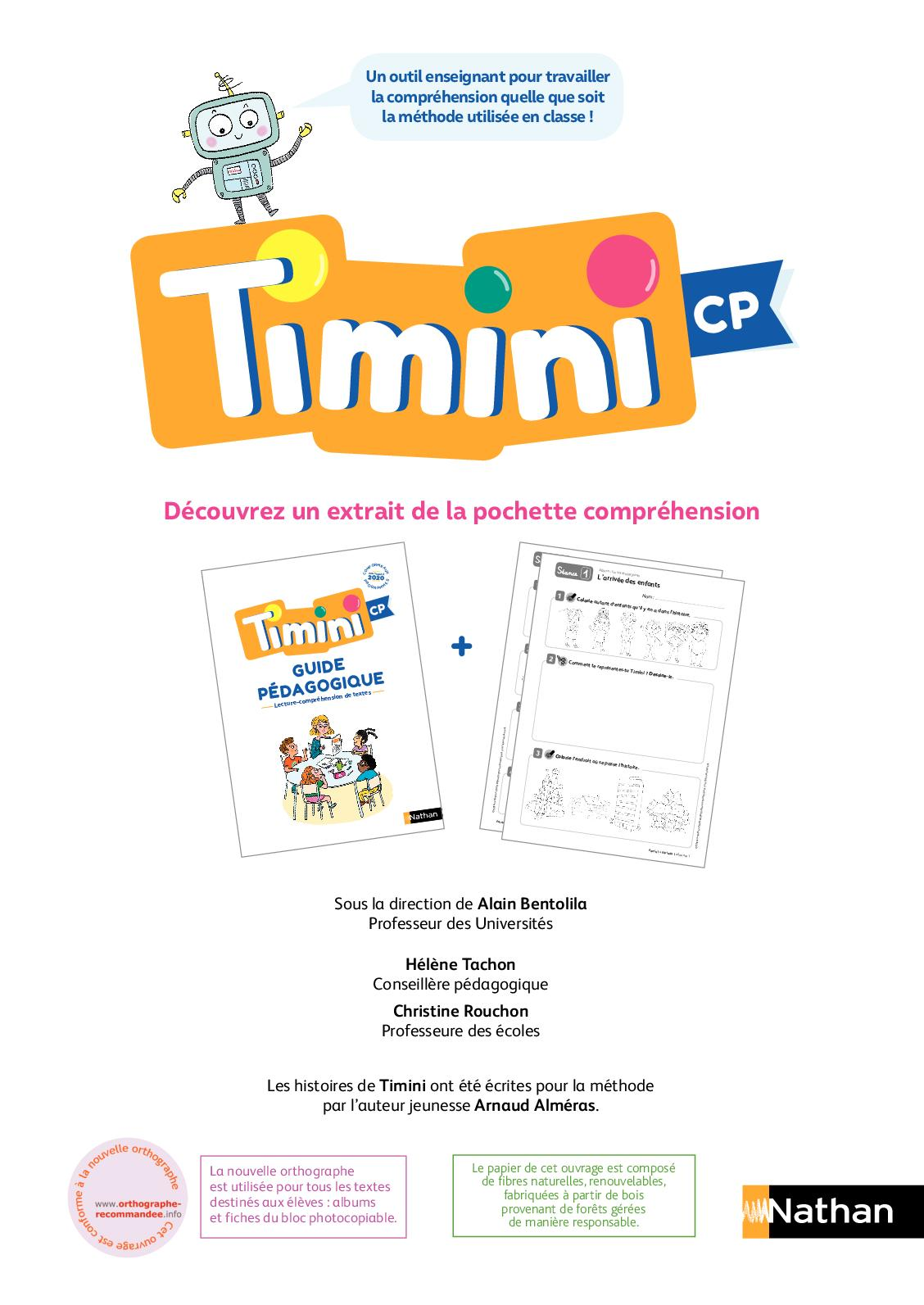 Calaméo   Fichier compréhension Timini   Extrait