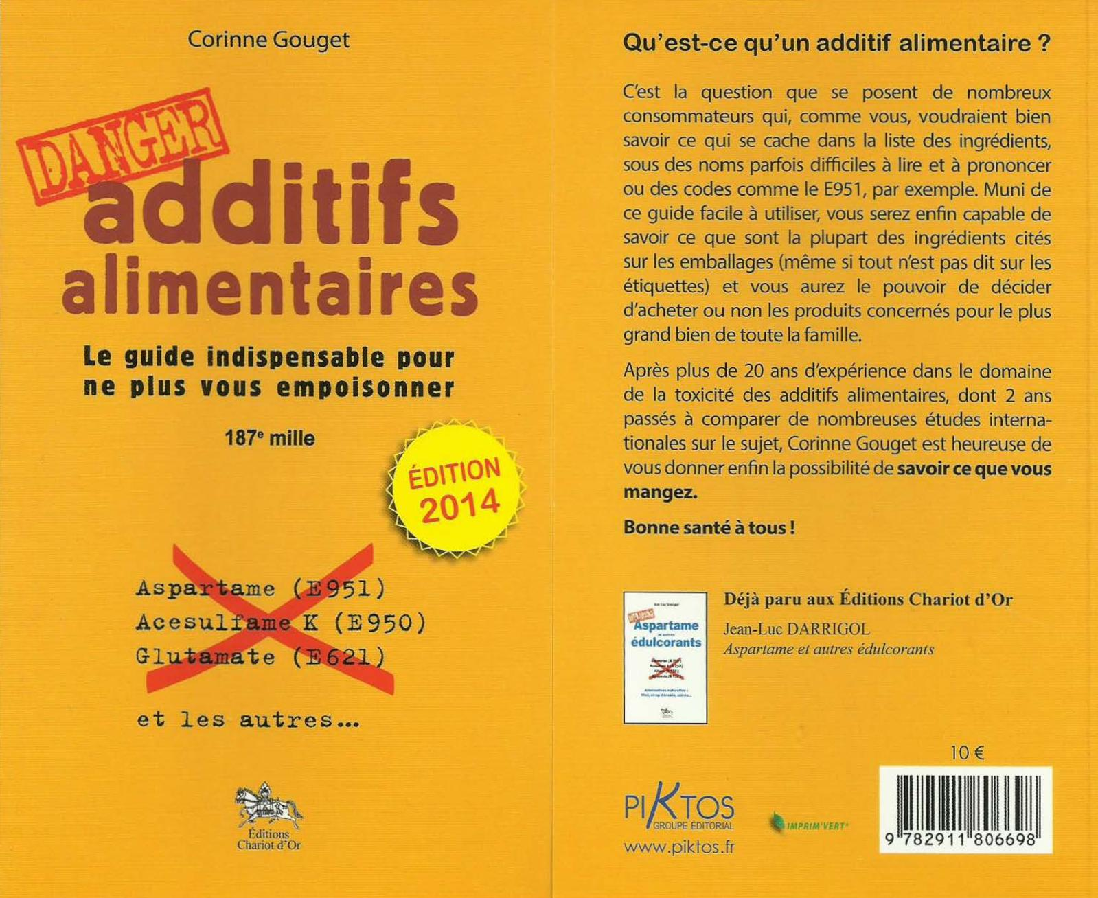 Corinne Gouget - Additifs alimentaires Danger 2014
