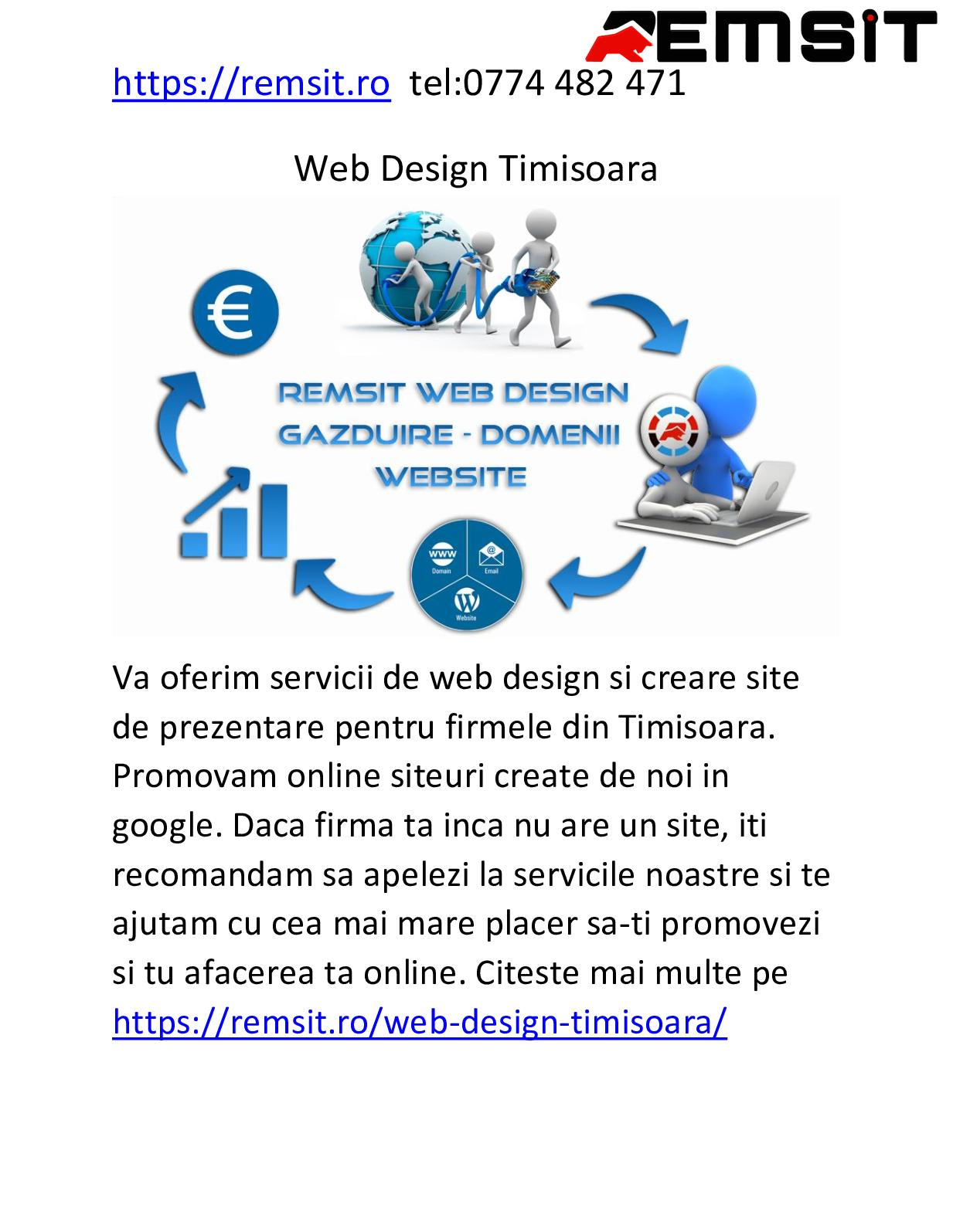 Site ul de prezentare placuta)