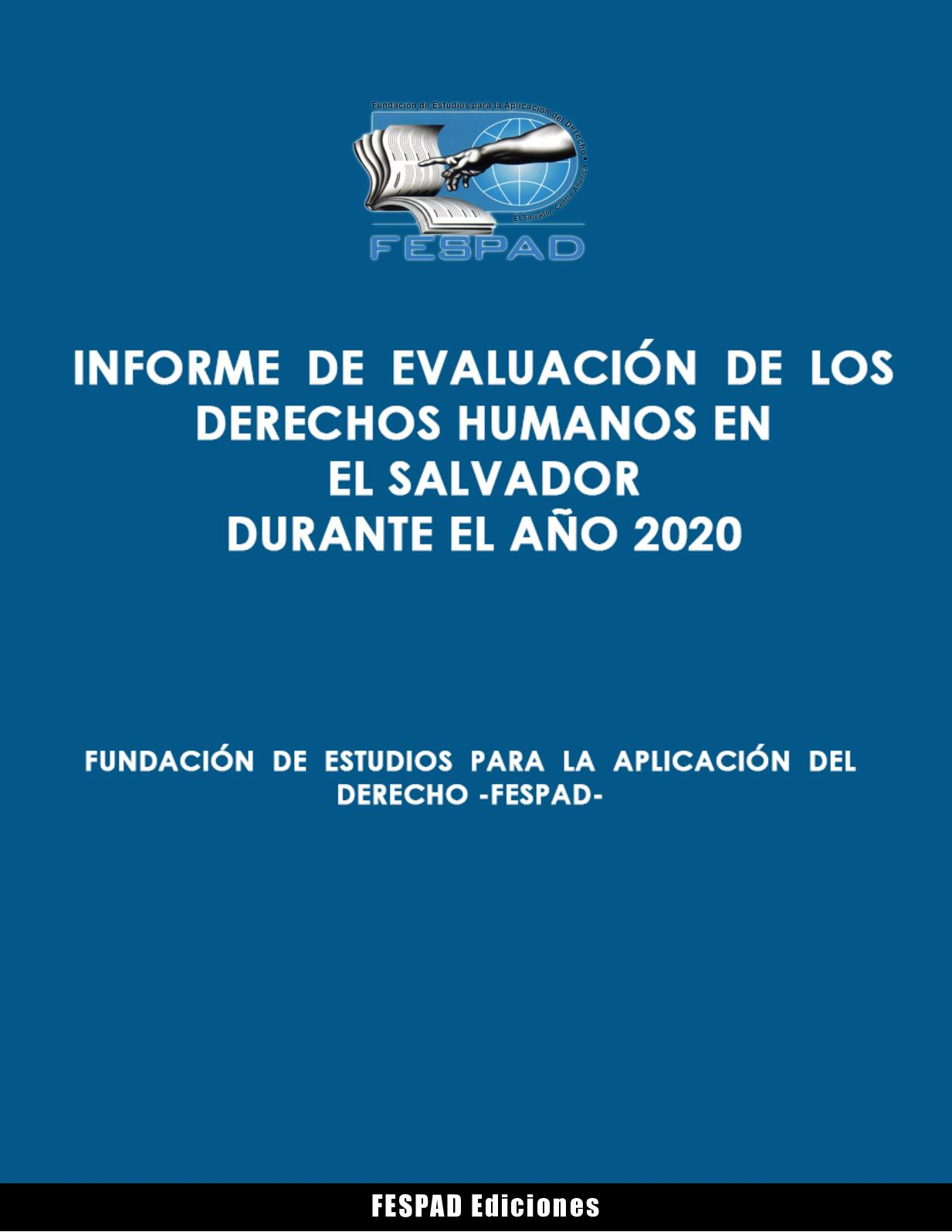 Informe de Evaluación de los DDHH en El Salvador 2020