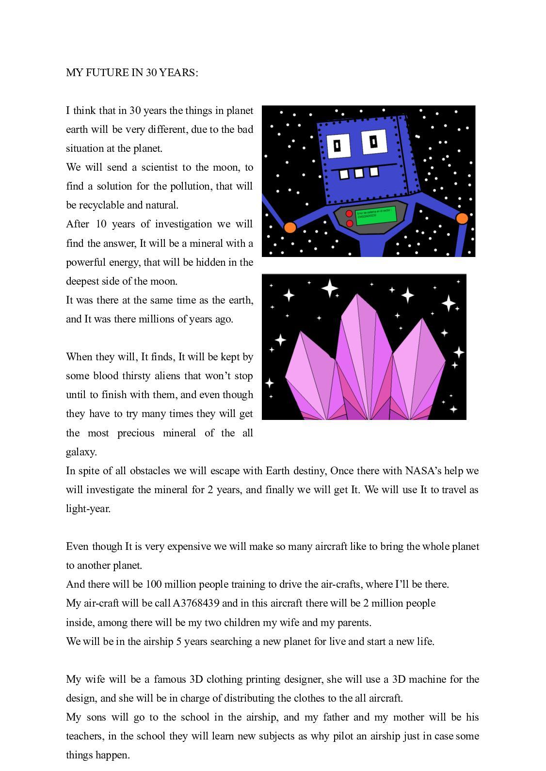 our precious planet essay