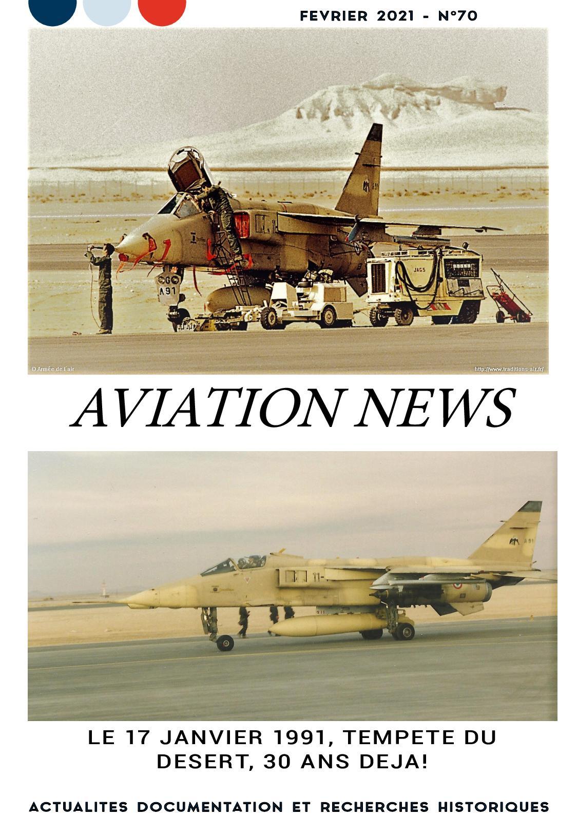AVIATION NEWS N° 70  FEVRIER 2021