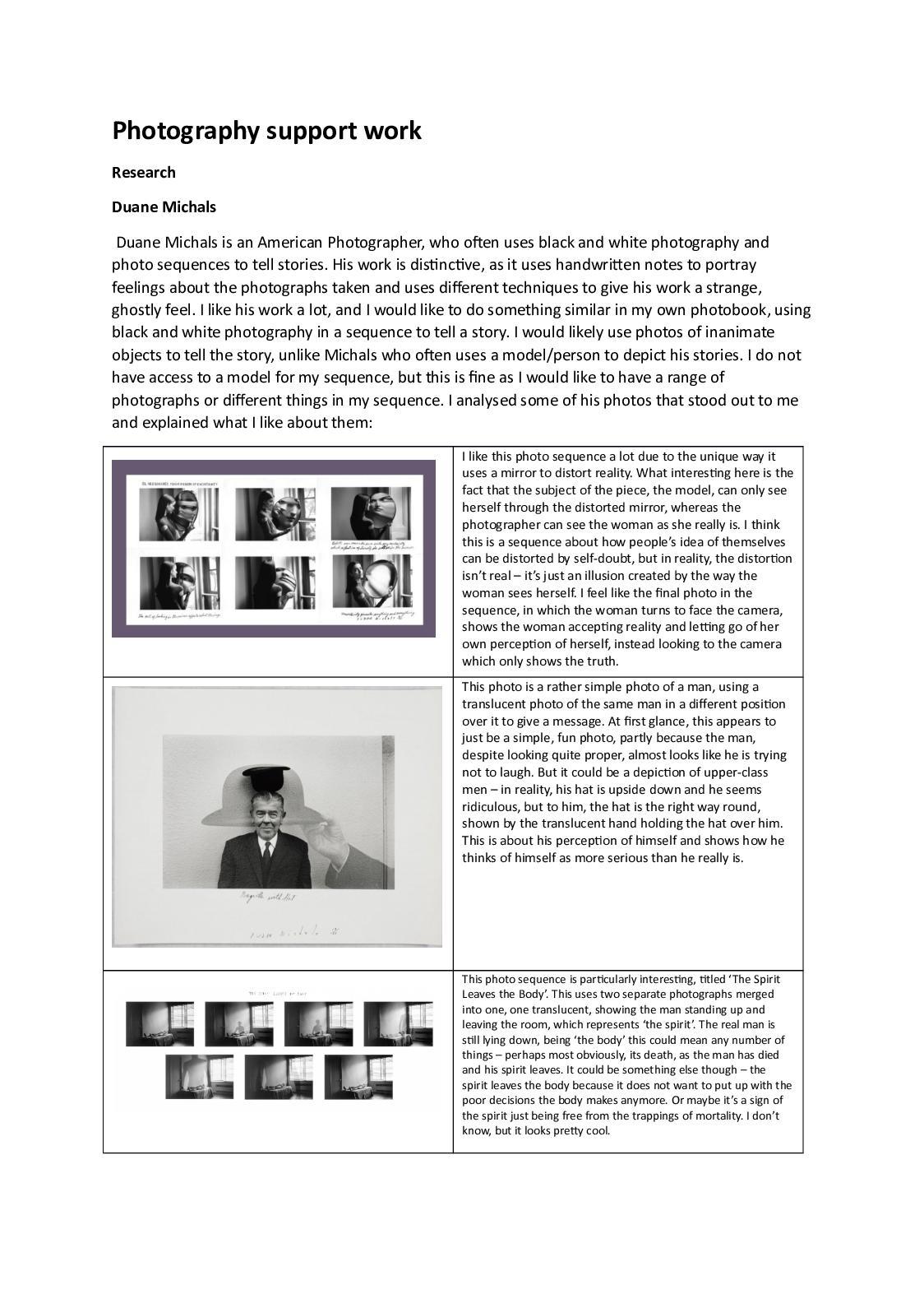 Calaméo   Photography Support Work