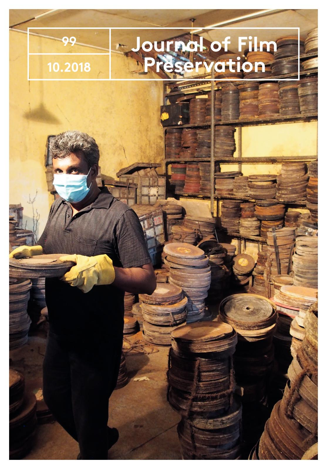Calameo Journal Of Film Preservation 99 October 2018