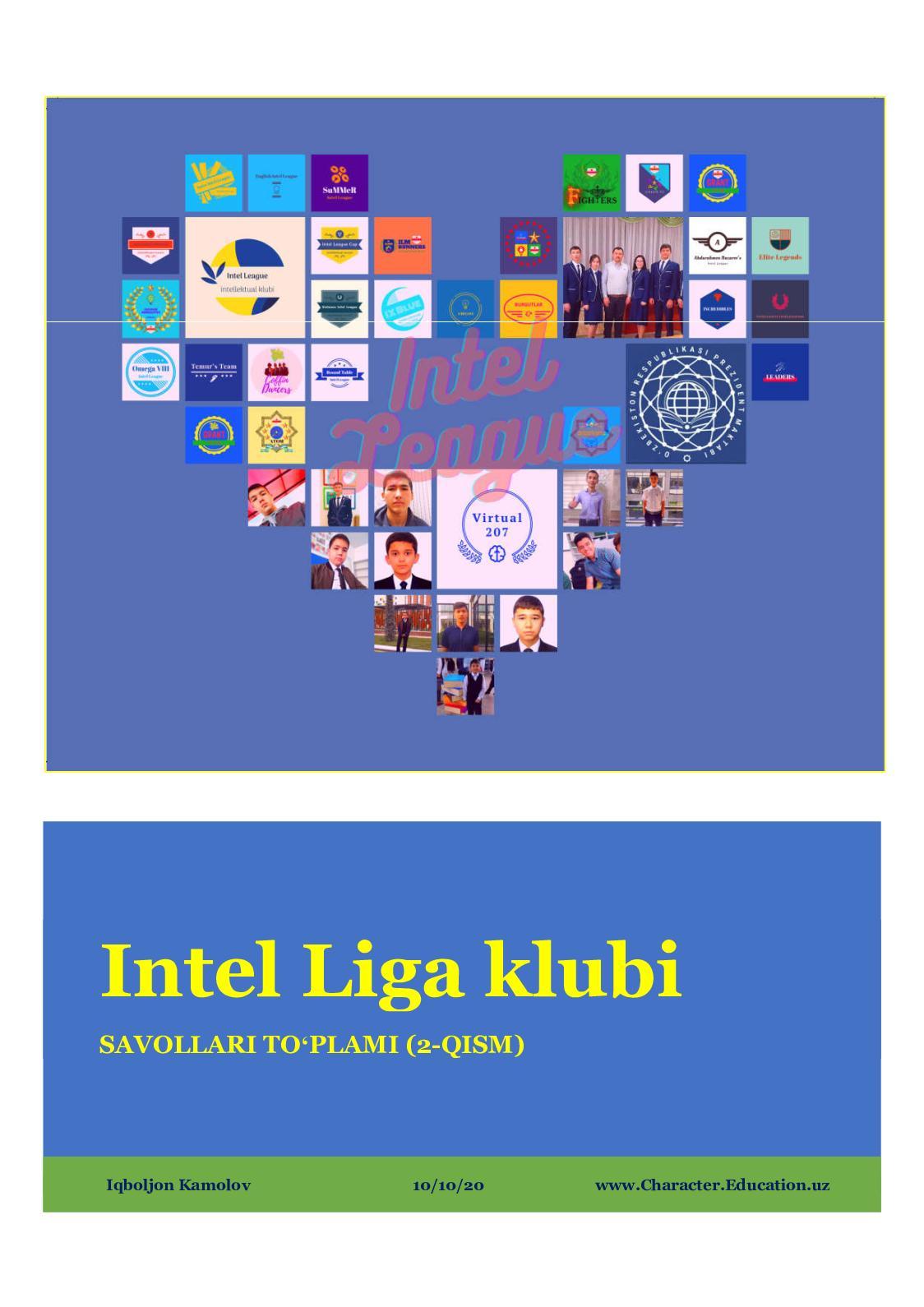 """""""Intel Liga"""" klubi MST (2-qism)"""