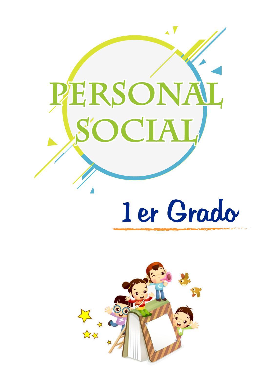 1ro Primaria - Personal Social