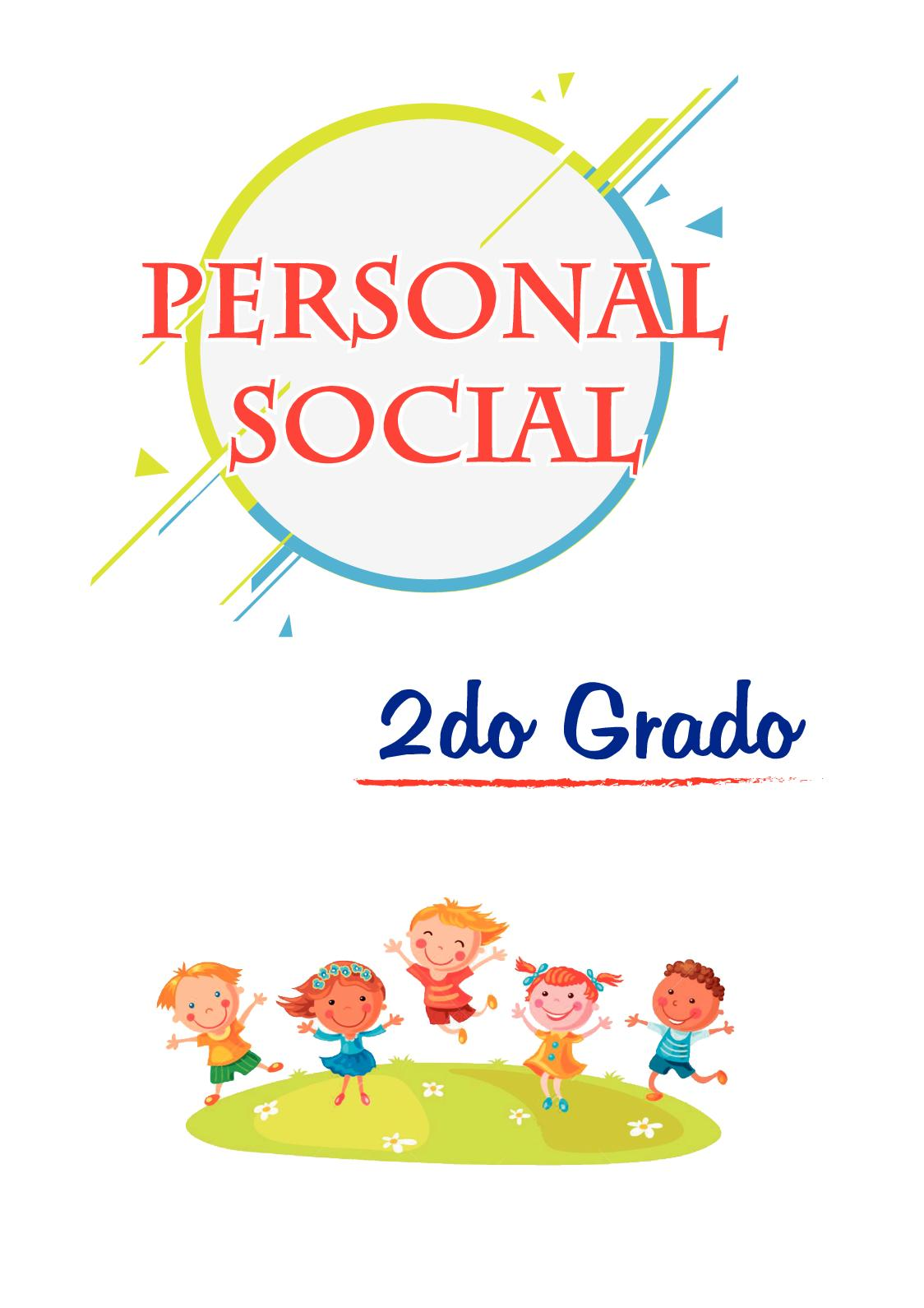2do Primaria - Personal Social
