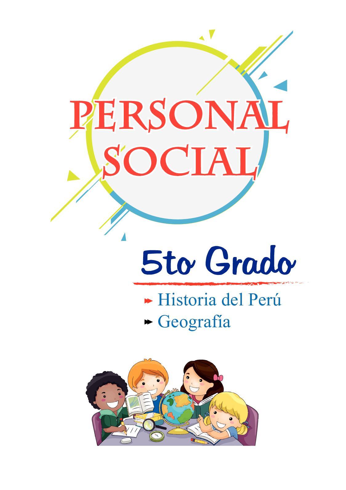 5to Primaria - Personal Social