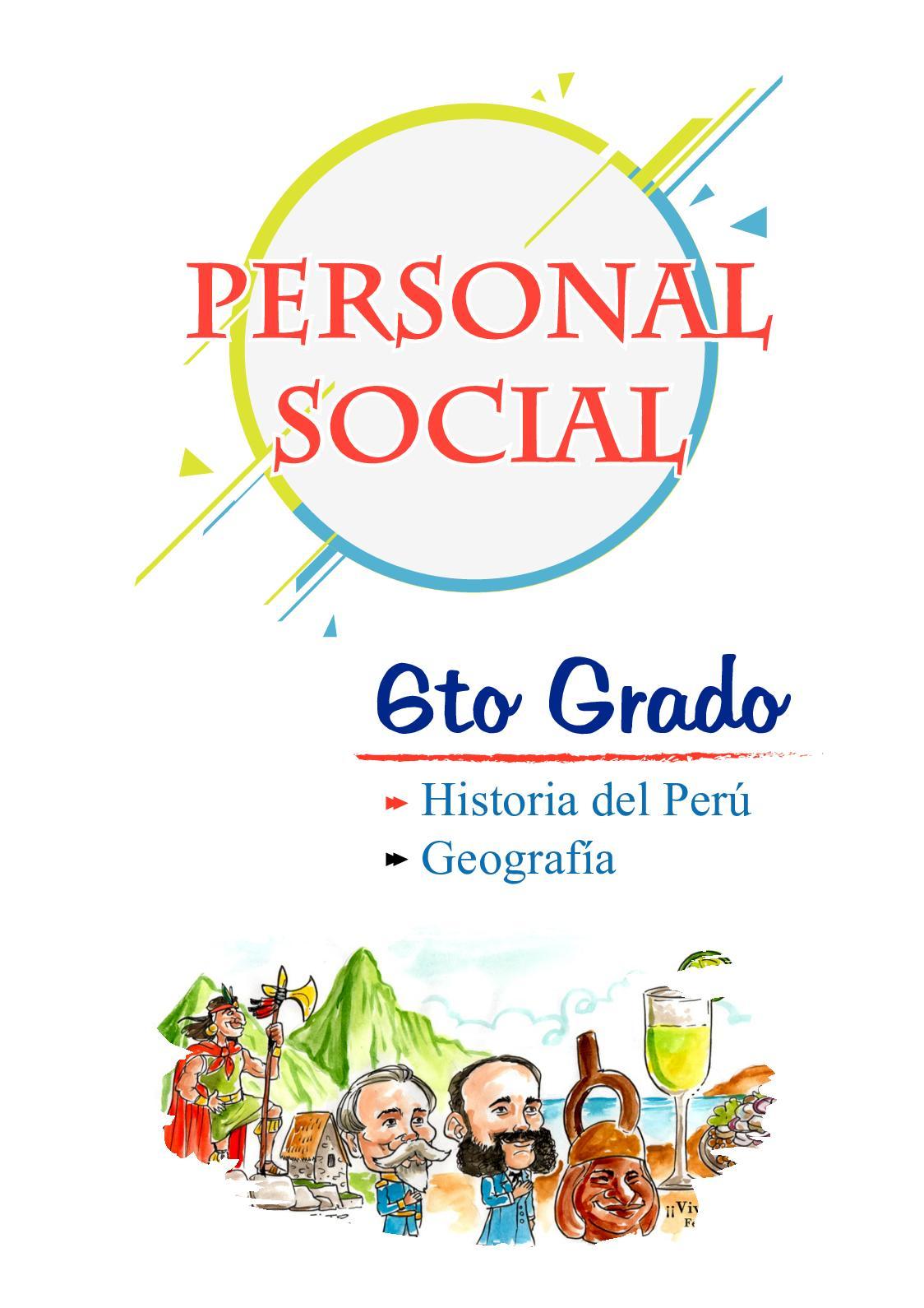 6to Primaria - Personal Social