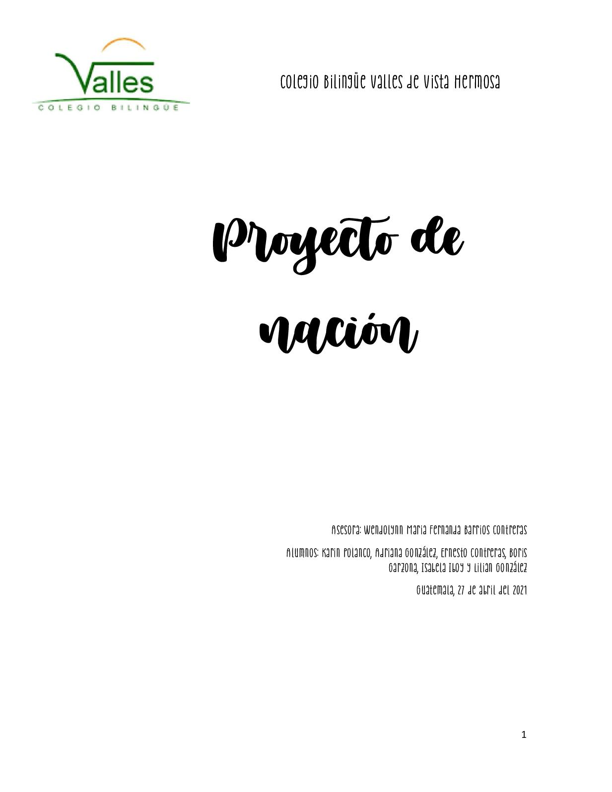 Proyecto De Nación 27 Abrilpdf