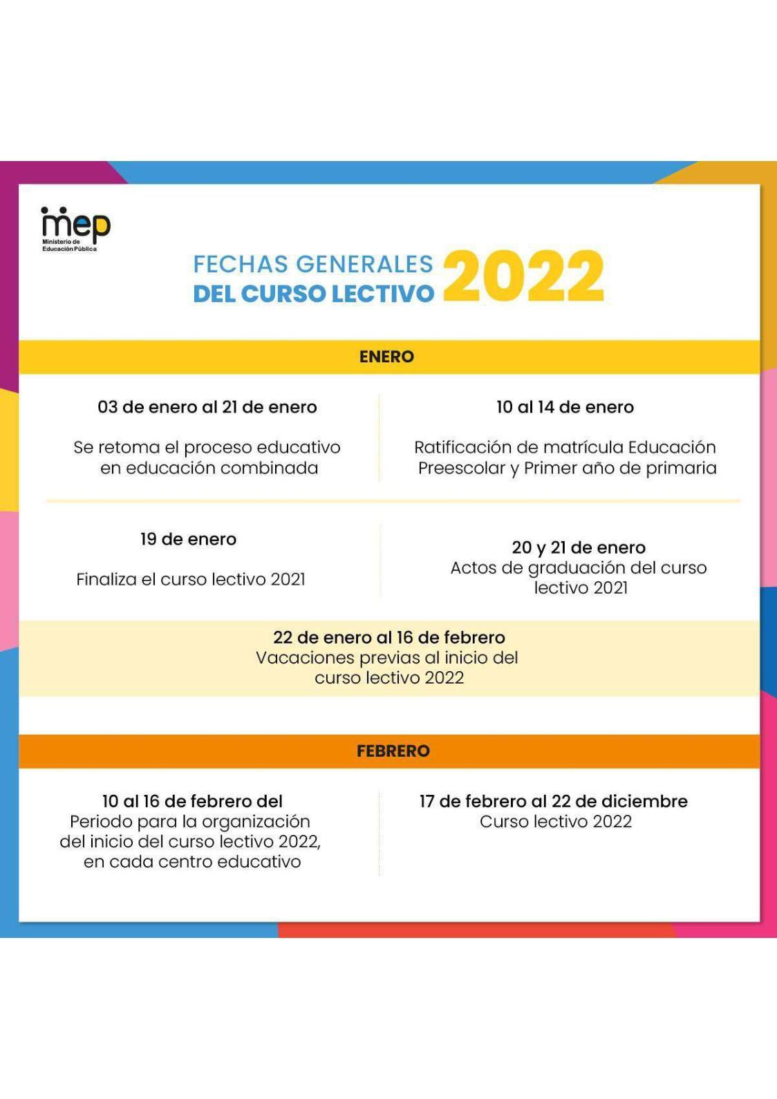 Calameo Reprogramacion De Calendario Escolar 2021