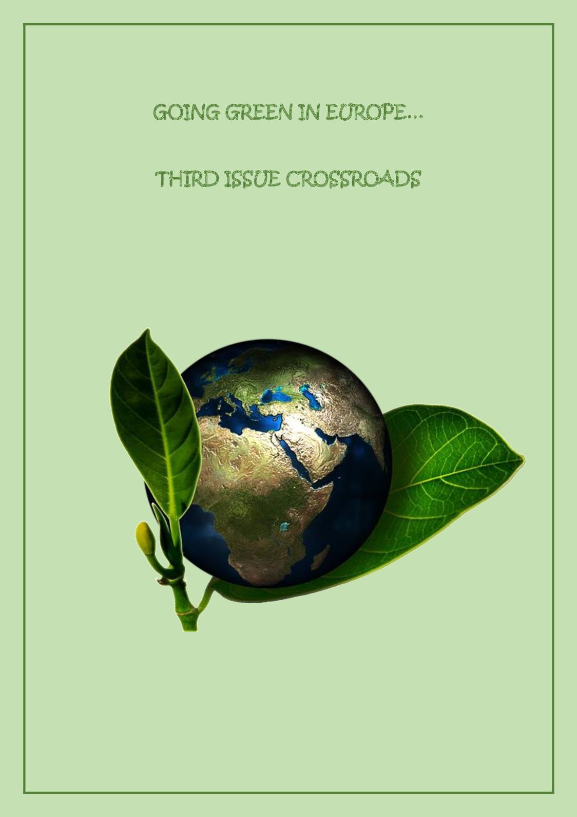 Calaméo   Going Green In Europe Crossroads Third Issue Etwinning ...