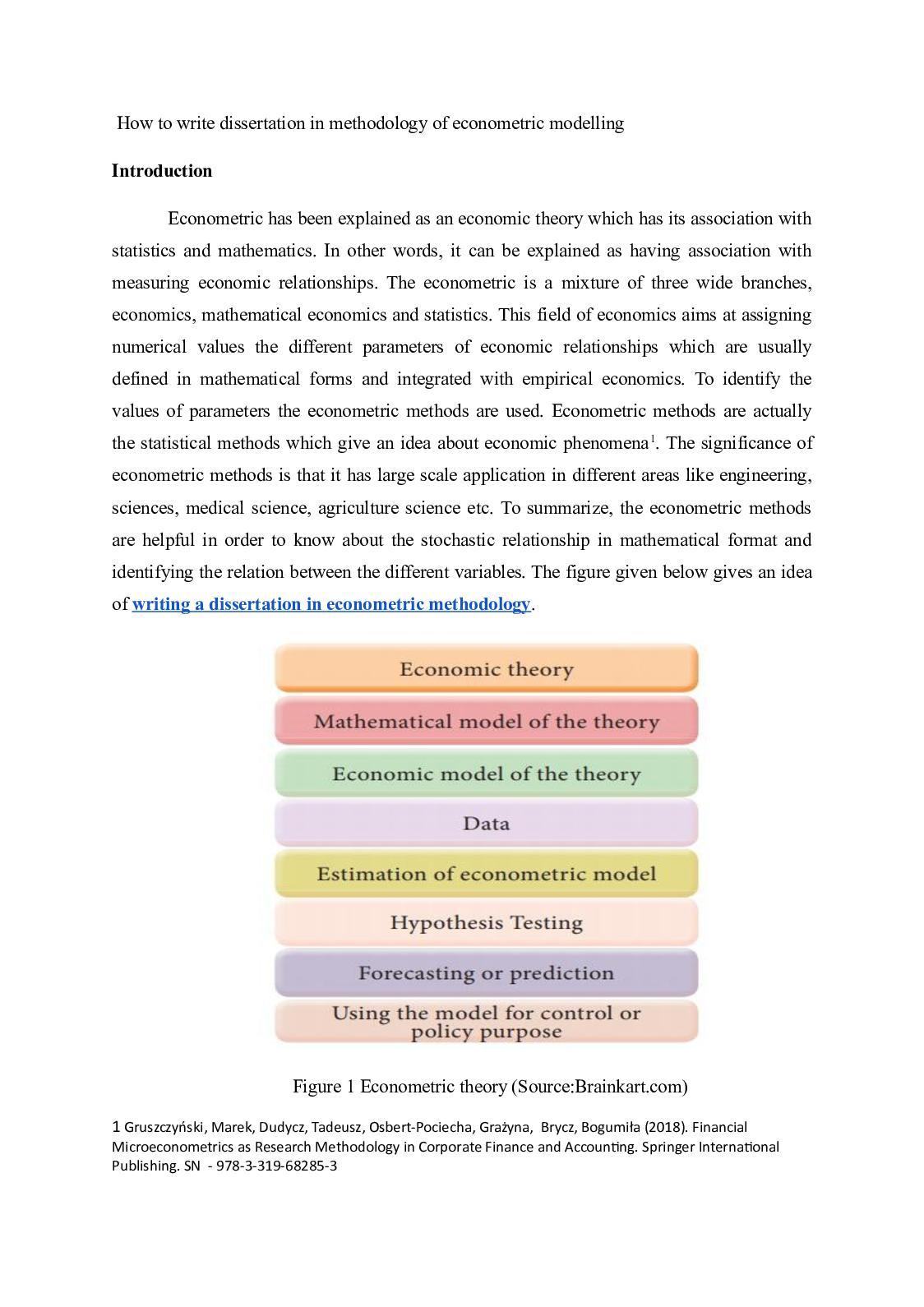 pay for finance dissertation methodology