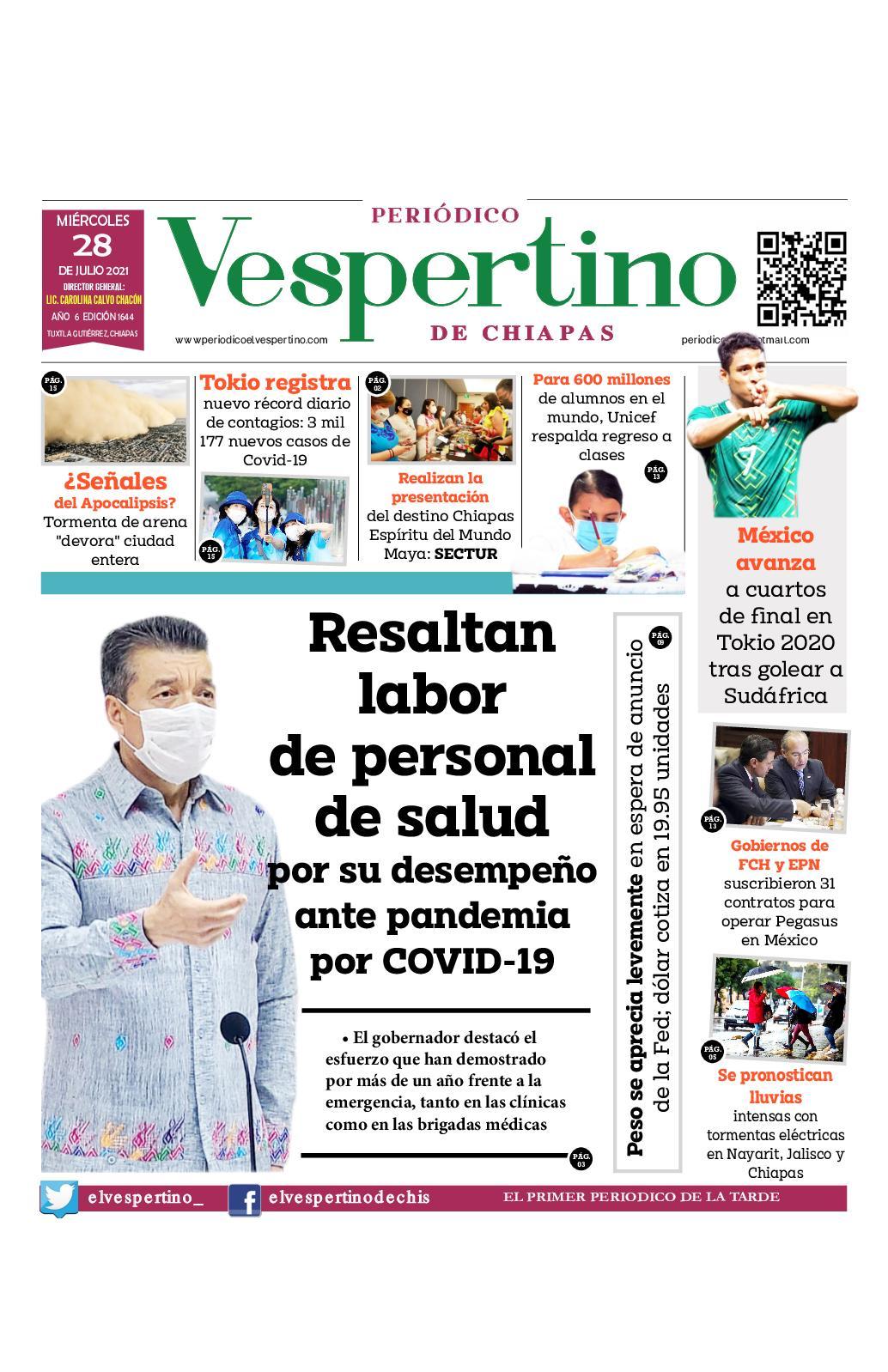Periodico Vespertino 1644