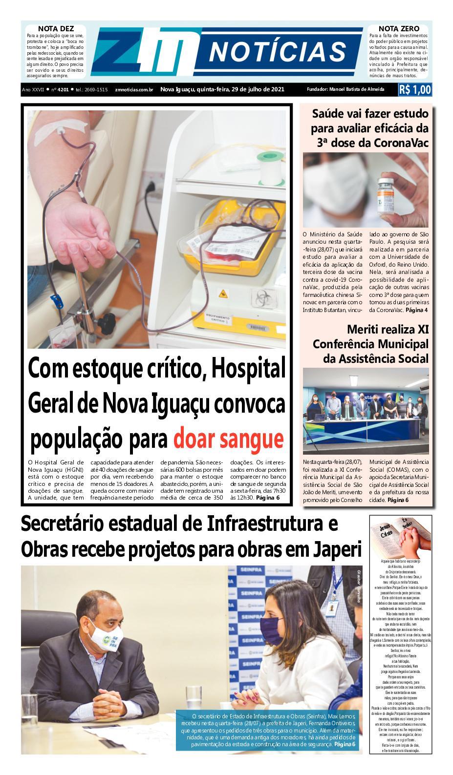 Zm Noticias 29072021