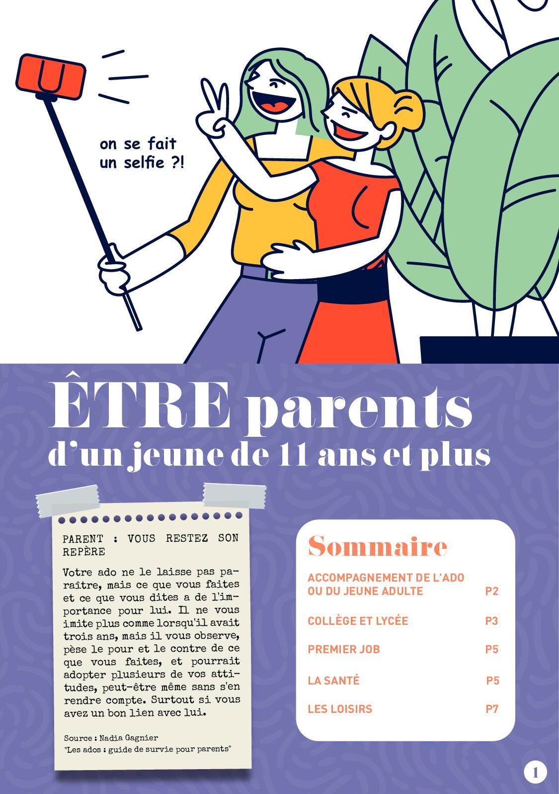 Etre Parents Dun Enfant De 11 Et Plus