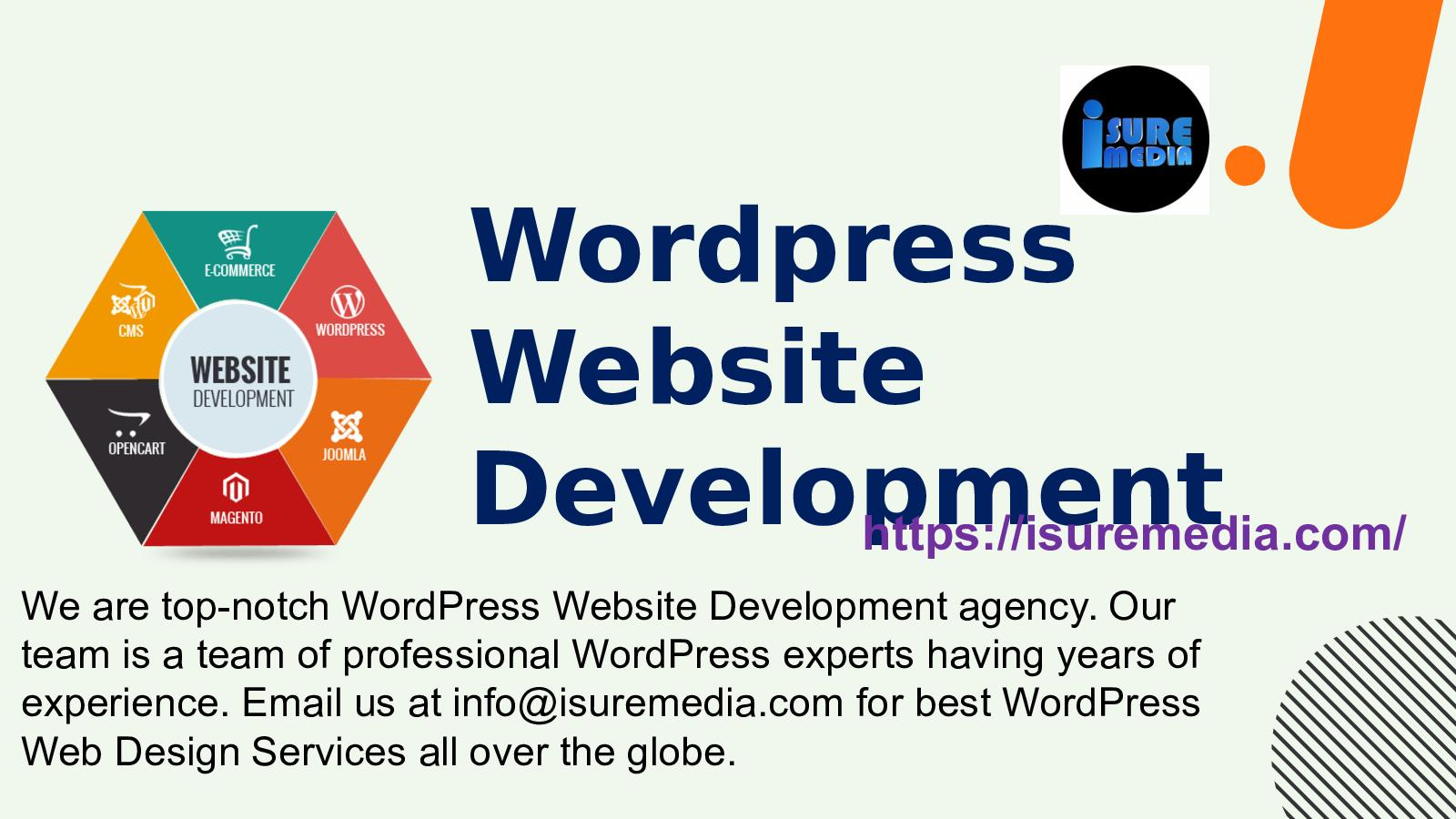 WordPress Development Agency - WordPress website development