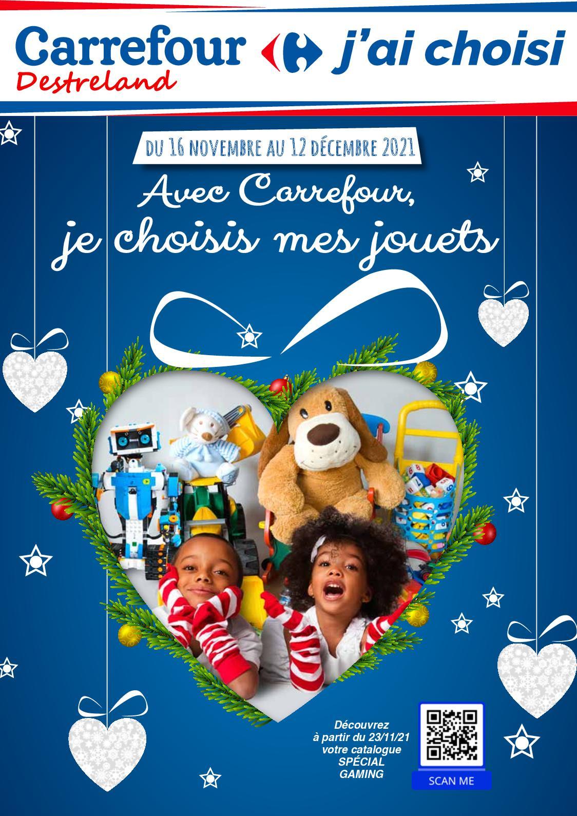 Avec Carrefour, je choisis mes jouets - Décembre 2021